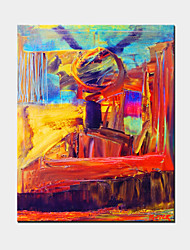 One Panel Hand-Painted Famous Abstract Oil Painting on Canvas Ready to Hang
