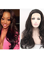 "10""-26"" Lace Front Human Hair Wigs Brazilian Virgin Hair Wavy Lace Front Wig for Black Women Glueless Full Lace Wig"
