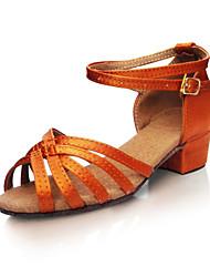 Zapatos de baile ( Chocolate ) -Latino / Jazz / Zapatillas de Baile / Moderno / Samba / Accesorios para Zapatos de Baile / Zapatos de