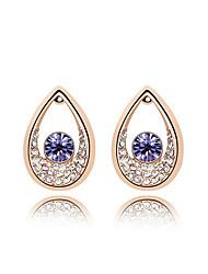 Earring Stud Earrings / Drop Earrings Jewelry Women Wedding / Party / Daily / Casual Crystal 1set