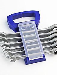 6 conjuntos de combinação arranca 8-14 ternos rack de plástico