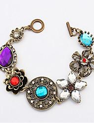 Vintage / Casual Alloy Cuff / Charm Bracelet