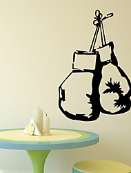 Sport Boxing Handbag Wall Sticker For Boys Room Diy Decoration Removable Art Home Decor Mural Wallpaper Poster Decals