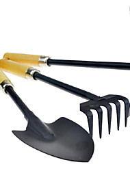 Gardening Camping Three Piece  Shovel Rake Tool for Growing Flowers or Vegetables