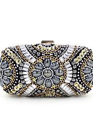 2016 New Women Bag  For Party Top Grade Handmade  Handbag With Diamond Beads JF0217012.