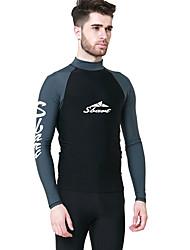 sbart® Damen Herrn wetsuit Top Dive Skins UV-resistant Chinlon Taucheranzug LangärmeligeSchutz gegen Hautausschlag Tauchanzüge Bademode