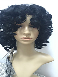 Reasonable In Price Synthetic Wigs Extensions Black Color Women Lady  Wigs