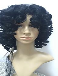 разумно в цене синтетических расширений париков черный цвет повелительницы женщин париков