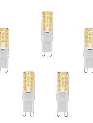3W G9 LED à Double Broches T 28 SMD 2835 220 lm Blanc Chaud / Blanc Froid Etanches AC 100-240 V 5 pièces