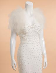 Wedding / Party/Evening Tulle Shrugs Sleeveless Wedding  Wraps