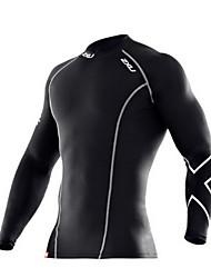 Carrera Tops Unisex Mangas largas Secado rápido / Reductor del Sudor Táctel Yoga / Escalada / Fitness / Running Deportes Ropa deportiva