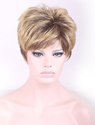 Most Popular Europe and the United States Wig Brown Gradient Synthetic hair Wigs
