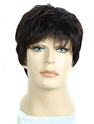 8 Inch Short Curly male&female Wigs for Black Women Synthetic Pixie Cut Wig