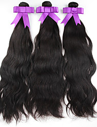 "10-30"" 3Pcs/Lot Peruvian Virgin Hair Natural Color Natural Wave Unprocessed Human Hair Extension Cheap Peruvian Hair"