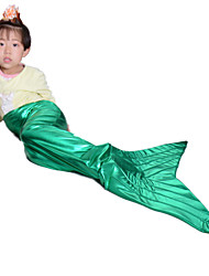 Green mermaid tail for kids mermaid tails for girls halloween costumes for kids children cosplay party fancy dress