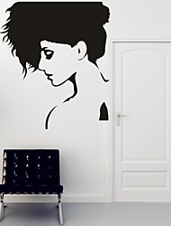 AYA™ DIY Wall Stickers Wall Decals, Beautiful Lady PVC Wall Stickers