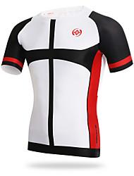 XINTOWN® Maillot de Ciclismo Hombres Mangas cortas BicicletaTranspirable / Secado rápido / Resistente a los UV / Compresión / Materiales