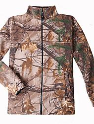 носимые, дышащие, теплые флисовые верхние части для охоты / рыбалки на открытом воздухе /