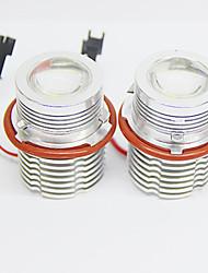 2pcs 60w führte Engelsauge für b-mw e65 Automodelle weiße Farbe
