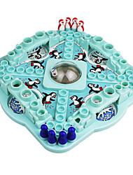 brinquedos concurso vôo de xadrez neve pinguim