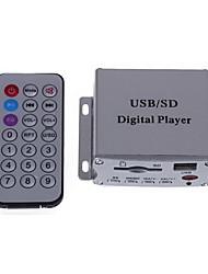 voitures accueil mp3 salut-fi amplificateur de puissance audio stéréo + port USB SD+ télécommande