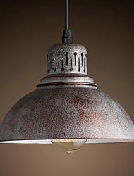 Retro Mini Style Painting Metal Pendant Lights Study Room/Office / Entry / Hallway / Outdoors