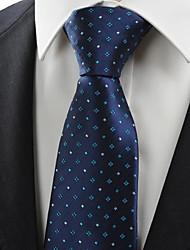 Cravatta-A strisceDIPoliestere-Blu scuro