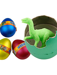 12pcs / set Dinosaur Egg Can Be Hatched Toys For Children Water Expanding Painted Eggshell Children's Toys