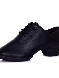 Non Customizable Women's Dance Shoes Leatherette Leatherette Dance Sneakers Boots / Heels Low HeelProfessional / Indoor / Outdoor /