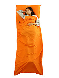 Sleeping Bag Liner Sleeping Bag Rectangular Bag Single 20-25 Polyester 400g 210X75 Hiking Camping Fishing Traveling Outdoor Indoor
