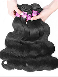 "3Pcs/Lot 8-30"" Unprocessed Protea Hair Products  Brazilian Virgin Hair Body Wave 100% Brazilian Human Hair Weaves"