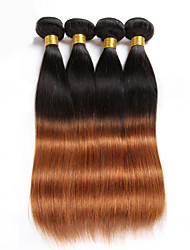 Halloween 3 Pieces 150g Straight Human Hair Weaves Brazilian Texture Human Hair Weaves Straight