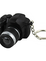 LED Lighting / Key Chain Camera Shape Special / Fashion Key Chain Black Plastic