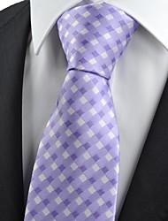Галстук(Фиолетовый,Полиэстер)Сетка