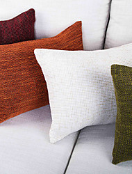 Polyester Pillow Cover , Thick Woven