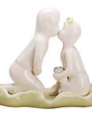 Modern Lovers Ceramic Craft Ornaments for Home Decoration 1pc