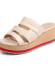 Female fashion PU slippers slippers summer beach sandals everyday comfort