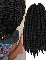 "Top Sellers Hair Braids X-TRESS Havana Mambo Twist Crochet Braid Hair 14"" Kanekalon Crochet Hair Extensions Twists #1"