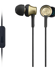 gusoll metallo di sport cuffie hi-fi cuffie auricolari MDR-ex650ap per Xiaomi iphone con il microfono