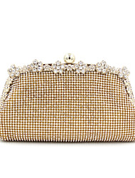 L.WEST® Women's Luxury High-grade Flower Diamonds Party/Evening Bag