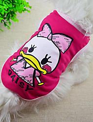 Cute Cartoon Printing Pet Vest