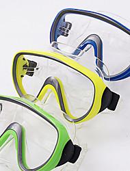 Очки для подводного плавания Набор для снорклинга Трубки Сухая трубка Подводное плавание и снорклинг силиконовый Синий
