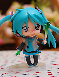 Vocaloid Hatsune Miku PVC One Size Anime Action Figures Model Toys  Q Version 1pc 10cm