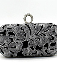Women Satin Event/Party / Wedding Evening Bag Gold / Silver