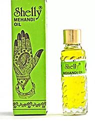 Хэллоуин 3 Shelly Mehandi хной Менди масло для тела хной потемнение краски татуировки искусство комплект