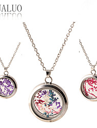 Necklace Lockets Necklaces Jewelry Daily / Casual Fashion Glass Transparent 1pc Gift