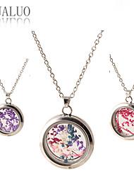 Feminino Medalhões Colares Vidro Liga Moda # 3 # 4 # 5 # 6 # 7 Jóias Para Diário Casual 1peça
