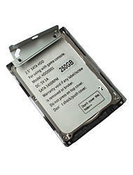 250gb hdd hard disk drive + staffa di montaggio per Sony PS3 super slim cech-400x