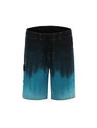 Homens Shorts / Shorts largos / Fundos Pesca / Natação / Esportes Relaxantes / Praia / Surfe Secagem Rápida / Vestível Verão / Outono