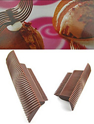 Cake Wood Grain Wheel Brush Impression  Fondant Embosser Cutter Cake Wood Grain Effect